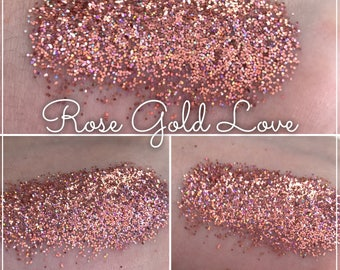 Rose Gold Love - Loose Glitter