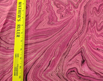 Northcott Artisan Spirit Sandscapes Cotton Fabric-Medium Pink