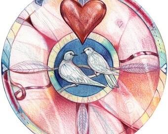 True Love Mandala