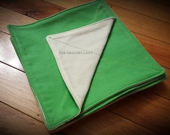 Green Reusable Napkins/Wipes