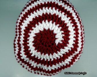 PATTERN Peppermint Slouchy Beanie *crochet