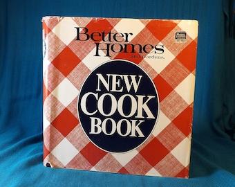 Better Homes and Gardens 1989 New Cookbook Vintage Hardback