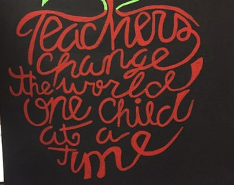 Teachers Change the World Canvas