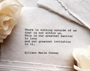 Invitation - poem