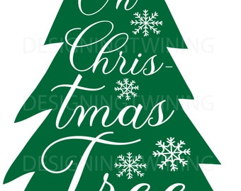 Christmas Tree SVG PNG DXF file