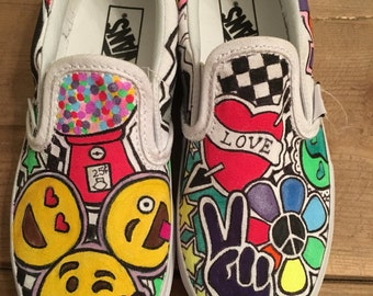Girls custom sneakers