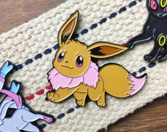 Pokemon Soft Enamel Pin - Eevee