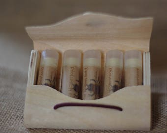 Organic Lip Balm Set || Pick Any 5 || Organic Lip Balm || Lip Balm