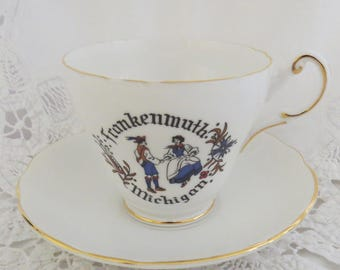 Regency English Bone China Teacup and Saucer Frankenmuth Michigan