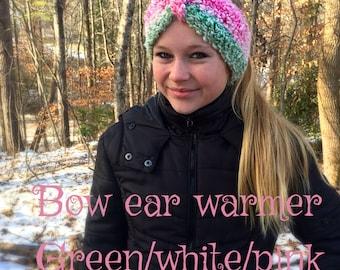 Bow ear warmer