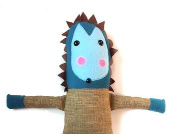 "handmade hedgehog ""Sonny"""