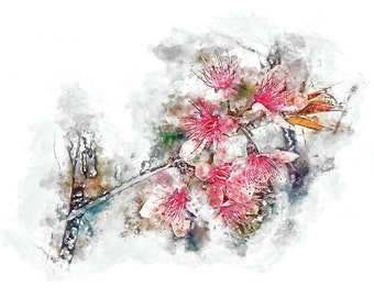 I'sbreag; Watercolour Painting; Print; Art; Abstract Art; Conceptual Art; Fine Art; Home Decor; Decoration; Office; Gift