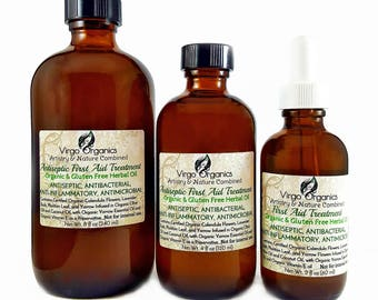 First Aid Treatment /Anti-itch Formula / Heals cuts Fast / Protects From infection / NON STINGING / Treament for Bug Bites and Skin Rash