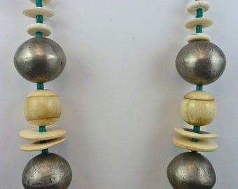 Grecian Island Ethnic Treasure Necklace