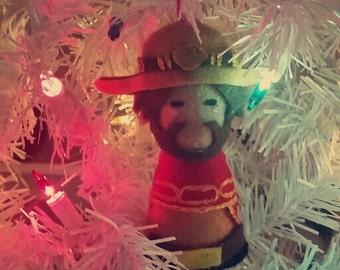 McCree Overwatch Winter Wonderland Ornament/Charm