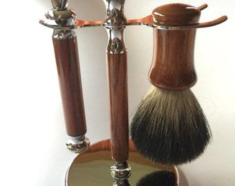 Tasmanian Blackwood Shaving Kit