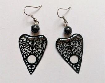 Ouija Planchette Earrings