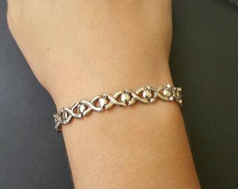 925 X and O Bracelet