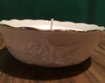 Lenox Bowl with Gold Trim