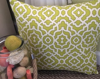 Green Pillow Cover