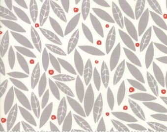 Holly in Chill - Merrily by Gingiber - cotton fabric