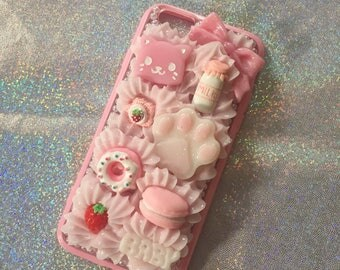 kitty cat sweets decoden case for iphone 6/6s