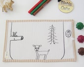 Colouring Mat Add on - Forest Friends