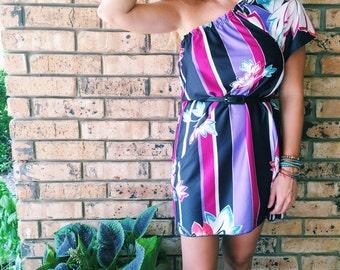 Margarita One Shoulder Dress