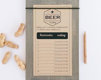 wine tasting score cards pdf