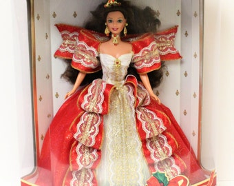 Happy Holidays Holiday Barbie 1997 Special Edition Mattel