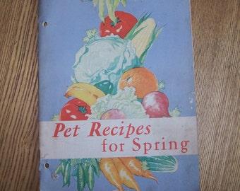 1932 Pet (Milk) Recipes for Spring