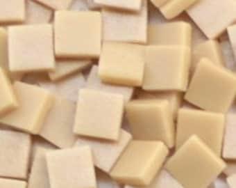 12mm Square Mosaic Tiles - Rich Tea Matte - 50g