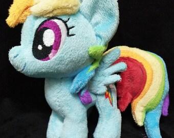 Mini Rainbow Dash Plushie