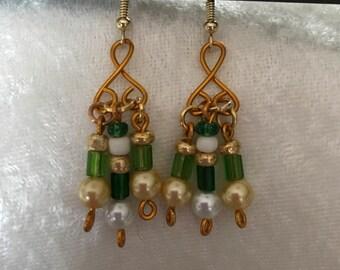 St Patricks Day Earrings
