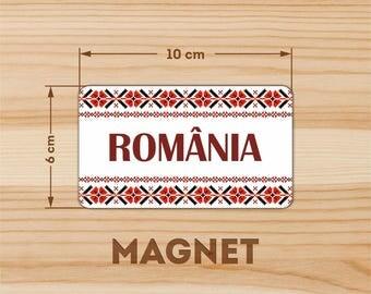 ornament Romania fridge magnet NEW