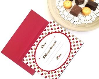 Valentines Cards for Kids/Classmates,Teacher Valentine Gifts,Kids Valentine Cards,Valentines Card for Teacher,Last Minute Valentine Ideas
