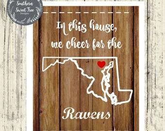 Baltimore Ravens Printable-Digital Download