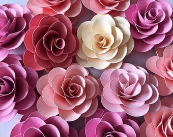 Handmade Paper Flowers- small