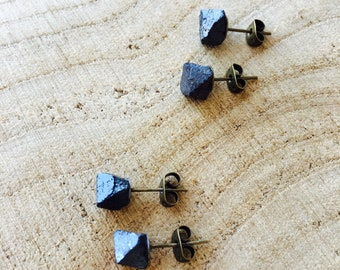 Magnetite earrings