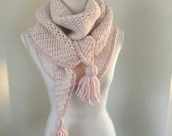 Triangle scarf/omslagdoek