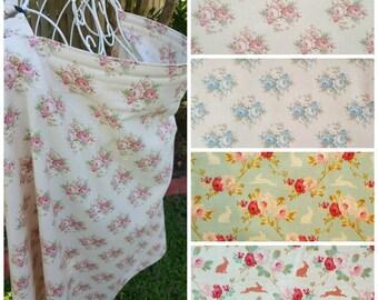 Nursing Cover Open Neck - Tilda Florals