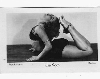 Vintage Usa Koch 1933 Orami Series E Dance Cigarette Card #71 Rare