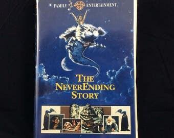 The NeverEnding Story on VHS