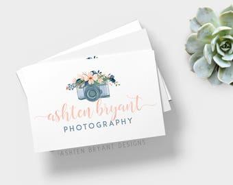 Photographer branding kit, Photographer logo bundle, photographer logo, premade camera logo, camera logo, camera branding kit, premade logo