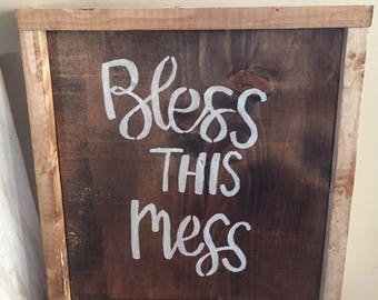 Brown bless this mess with frame