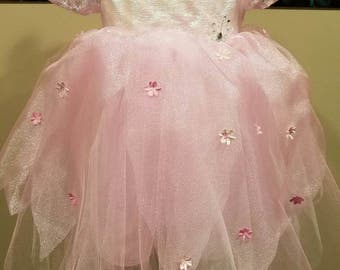 Pink Sparkle Fairy Dress 3T