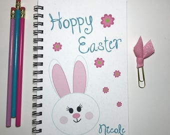 Journal, Bullet Journal, Easter, Easter Gift, Easter Journal, Easter Bunny, Easter Basket Gift, Kids, Bullet Journal, Notebook, Sketchbook