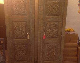 Reclaimed wood cupboard