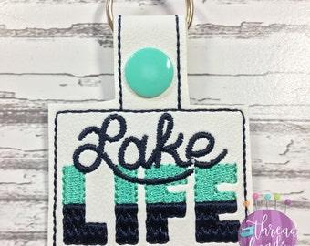 Lake Life Key Chain, Key Fob