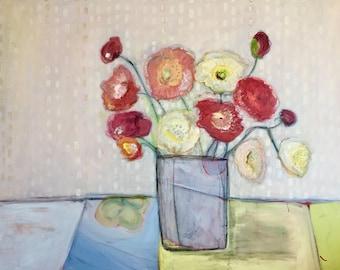 Original Art on Canvas, home decor, interior design, wall decor